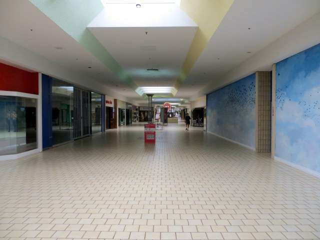 Hell is a failing shopping mall  Is there any way to save